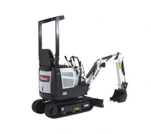 Mini Excavator Bobcat E08 Construction Machinery