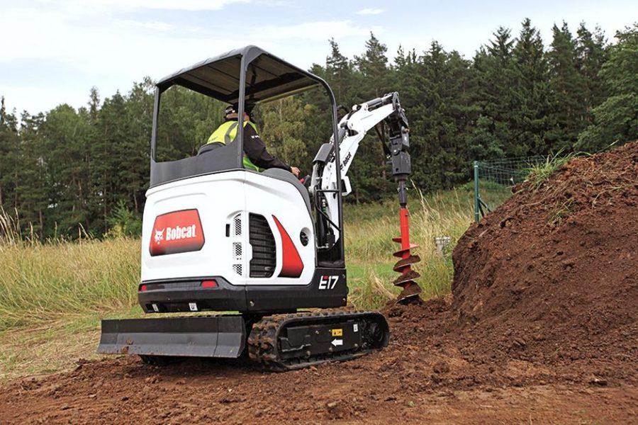 Bobcat Compact Mini Excavator e17 construction agriculture
