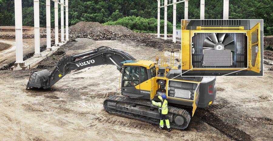 volvo wheel excavator EC380E construction agriculture machinery