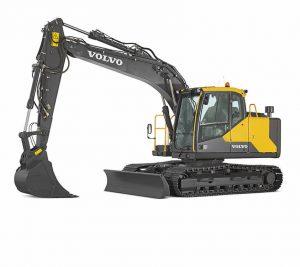volvo crawler excavator ec140e
