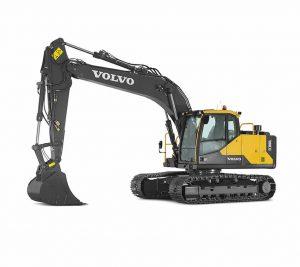 volvo crawler excavator ec180e construction agriculture machinery