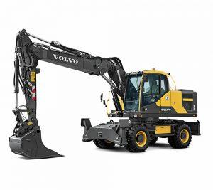 volvo wheel excavator eW180E construction agriculture machinery