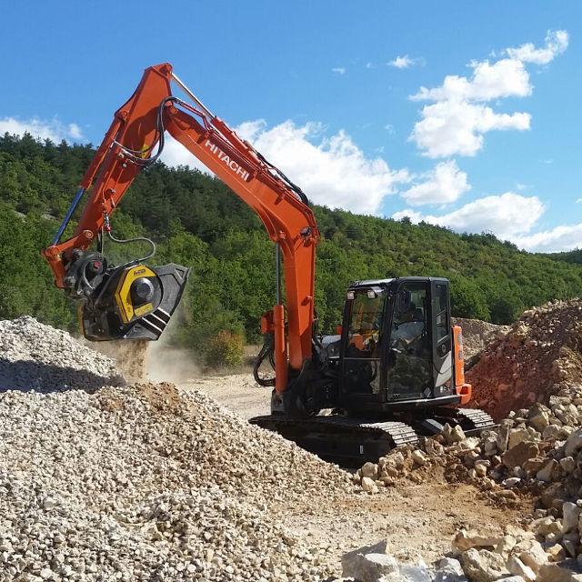 MB Crusher Manufacturer Bucket C50 Demolitions Recycling Quarries Mines Roadworks Tunnels Backhoe Loader Mini Excavator